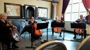 Cellokwartet Wiriavier @ Huis van Waalre   Waalre   Noord-Brabant   Nederland