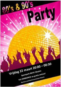 80's & 90's party @ Sportpark Hoeveland | Waalre | Noord-Brabant | Nederland