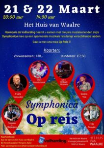 Symphonica Op Reis @ Het Huis van Waalre | Waalre | Noord-Brabant | Nederland