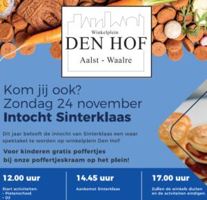 Sinterklaas in Aalst @ Winkelplein Den Hof | Waalre | Noord-Brabant | Nederland