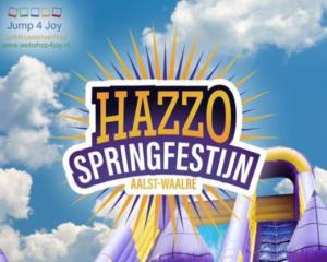 Springkussenfestijn @ Sporthal Hazzo | Waalre | Noord-Brabant | Nederland
